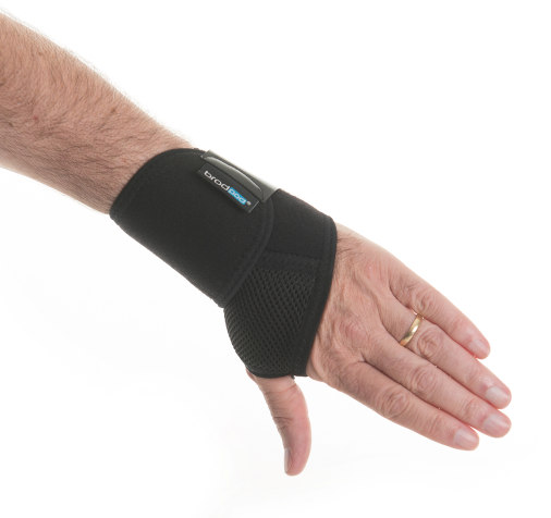 Wrist support back of hand