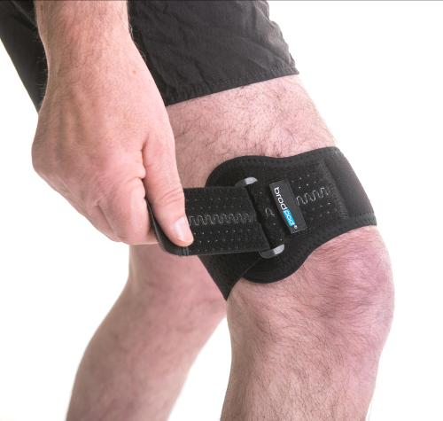 Above knee support strap