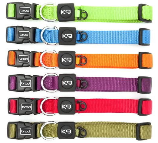 Large magnetic dog collar colour range