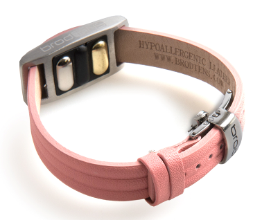 BrodTeNS pink leather clasp