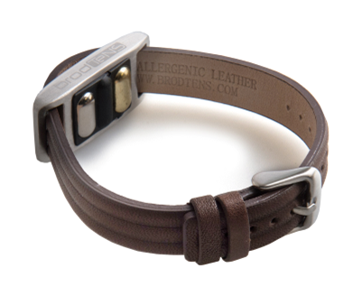 BrodTeNS brown leather buckle