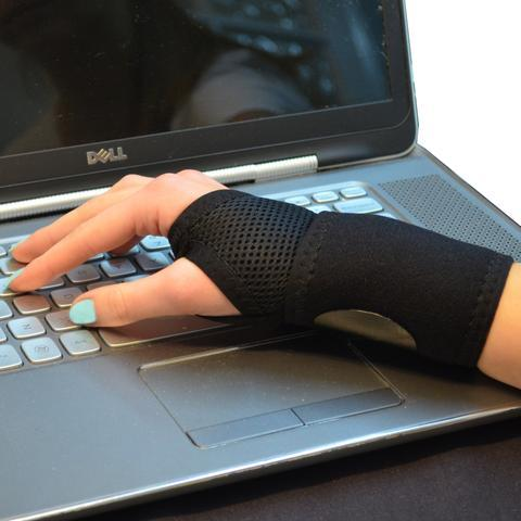 RSI Wrist support when using keyboards