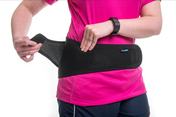 Magnetic brace belt for back pain relief
