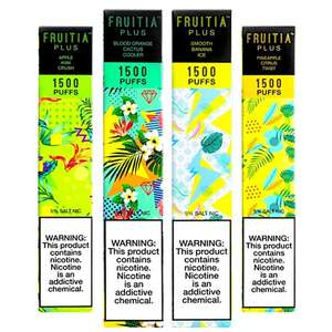 Fruitia-Plus-Disposable-E-cigs-1500-Puffs