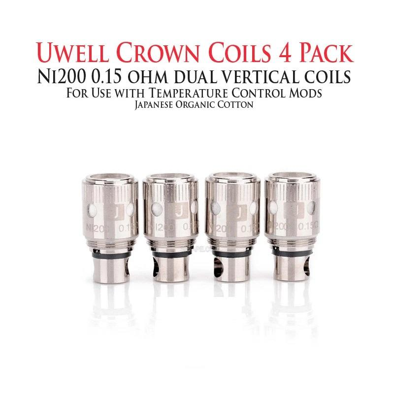 UWell-Crown-Replacement-Ni200-Nickel-Coils-4pcs