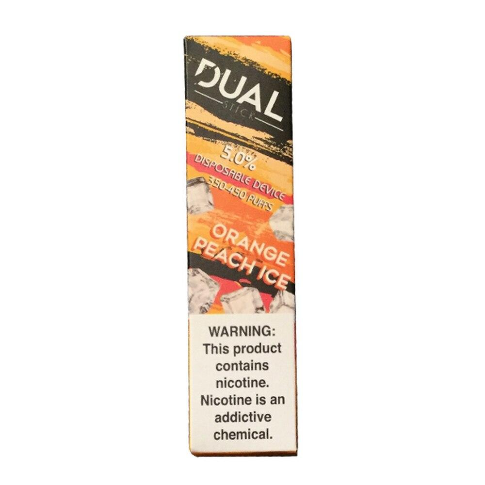 Dual Stick Disposable 5% Orange Peach Ice