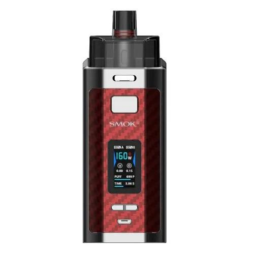 Smok_RPM160_Kit_Red_Carbon_Fiber
