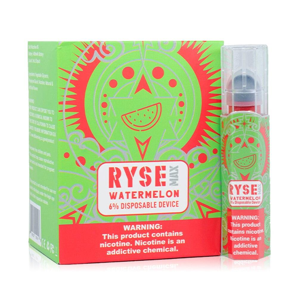 Ryse-Max-Disposable-E-Cigs-Ryse-6%-Box