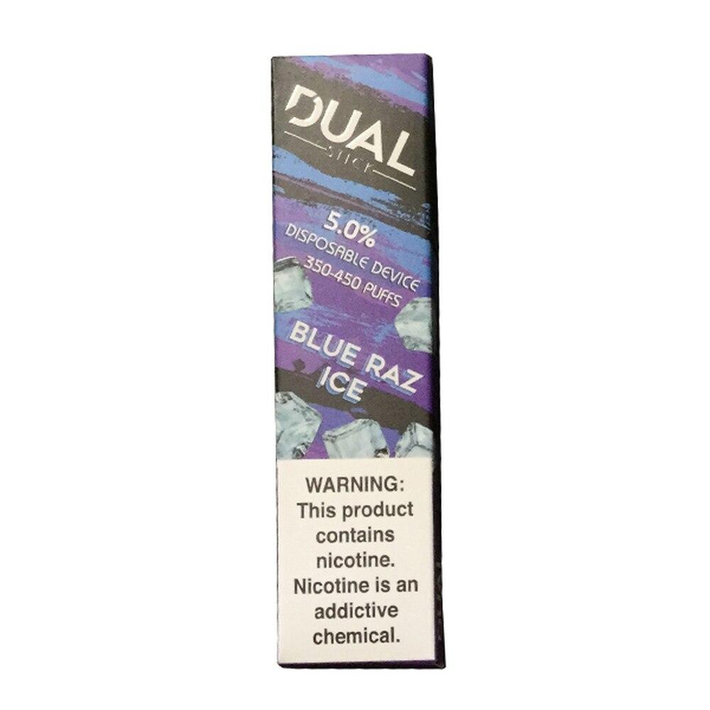 Dual Stick Disposable 5% Blue Raz Ice