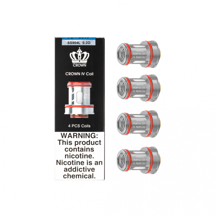 Uwell-Crown-4-Replacement-Coils-for-Crown-4-Tank-4pcs