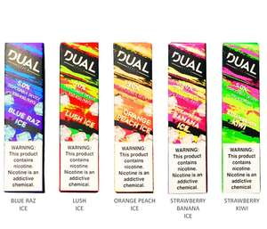 Dual Stick Disposable 5% All Flavors