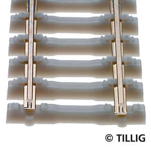 Tillig 83134 Flexible track with concrete sleeper