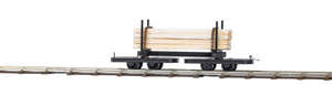 Busch 12221 Narrow Gauge Wagon with timber load