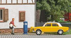 Busch 7764 Mini Scene: Taxi Rank