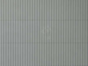 Auhagen 52233 2 grey industrial cladding decorative plastic sheets