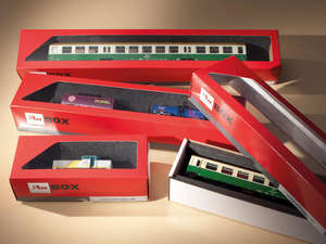 Auhagen 99304 10 Storage boxes for locomotives and coaches
