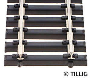 Tillig 83136 Flexible track with steel sleeper