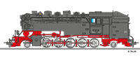 Tillig 02928 Steam locomotive DR