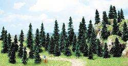 Busch 6597 50 Budget Fir Trees