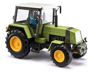 Busch 50420 Green Tractor ZT 323 LPG with farmer