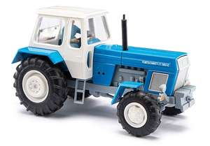 Busch 42855 Blue tractor ZT 303 with farmer