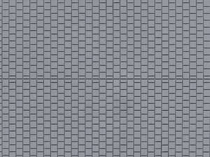 Auhagen 52223 2 Grey Pavement Decorative Plastic Sheets