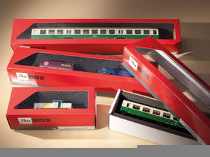 Auhagen 99303 10 Storage boxes for locomotives and coaches
