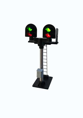 Berko B363 2 Aspect Home (R/G) Platform T Junction Round Head