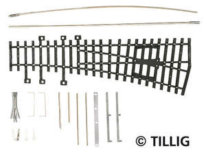 Tillig 82410 left curved inside points kit
