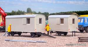 10278 KIBRI H0 Construction trailer