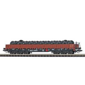 Busch 31176 Flat car with wheelsets load