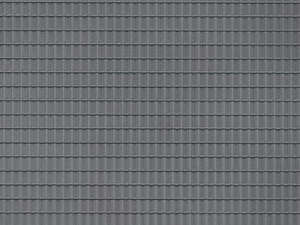 Auhagen 52226 2 Dark Grey Roof Tile Decorative Plastic Sheets