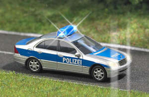 Busch 5615 Police Mercedes with working lights