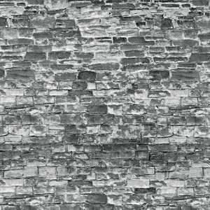 Vollmer 46055 Natural grey stone wall embossed card sheet