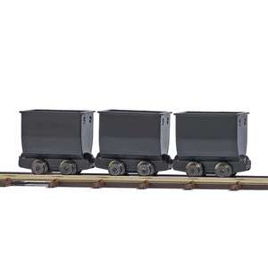 Busch 12260 3 black mine trucks