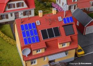 Kibri 38602 TV aerials, Solar and photovoltaic panels