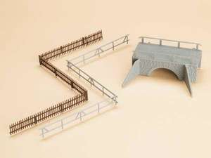 Auhagen kit 11442 NEW HO PLATE GIRDER BRIDGE EXPANSION 11441