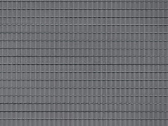 Auhagen 52426 Dark grey roof tile plastic sheet
