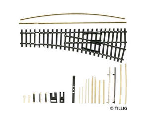 Tillig 83009 Curved sleeper track