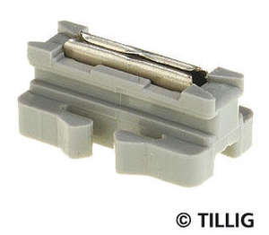 Tillig 83950 20 Bedding track rail joiners