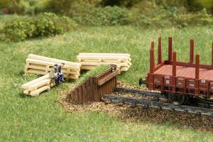 Auhagen 44655 Timber buffer