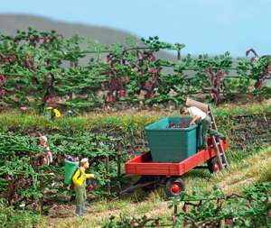 Busch 7879 Grape harvest with wagon