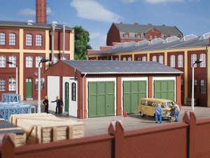 Auhagen 80100 Factory Building Extension Modelling Kit
