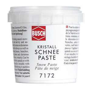 Busch 7172 Crystal Snow Paste 150g