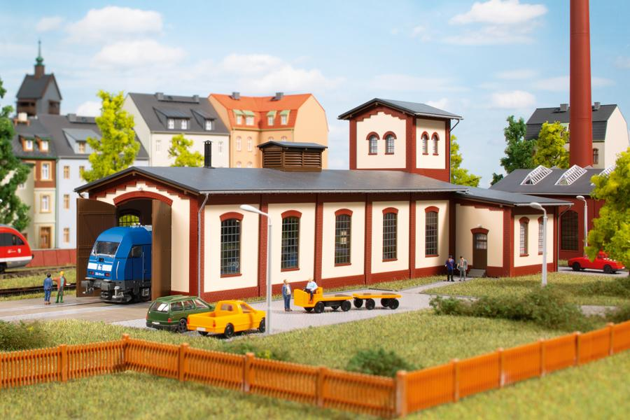 Auhagen 13345 Single track engine shed