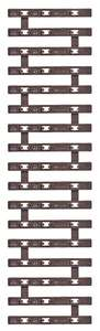 Busch 35098 TTe Three-rail flex track grate