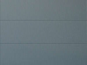 Auhagen 52231 2 Grey Corrugated Iron Decorative Plastic Sheets