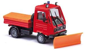 Busch 42225 Fire Brigade Multicar M26 with snow plough
