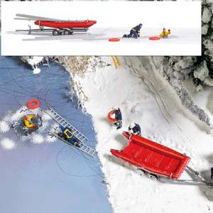 Busch 7855 Action Set: Ice rescue