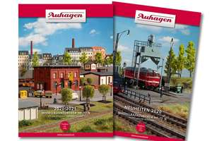 Auhagen 99616 2020 Catalogue with English new items leaflet